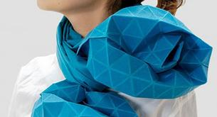 La bufanda origami, moda desde Japón