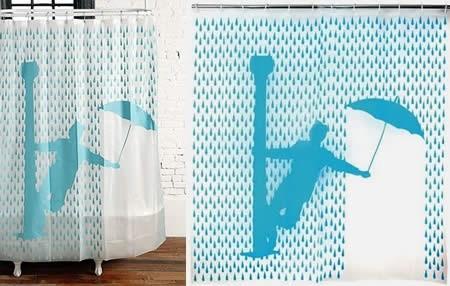 Las cortinas de ba o m s originales y divertidas for Cortinas bano originales