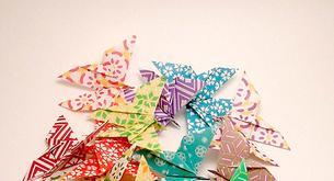 El origami, arte japonés