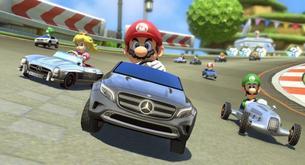 Coches Mercedes para Mario Kart 8