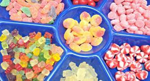 La tienda de dulces solo para niños
