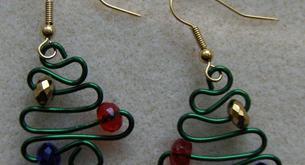 Pendientes para lucir en Navidad