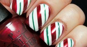 Cómo decorar tus uñas de Navidad