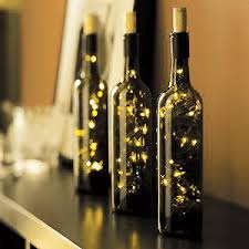 Decoraci n navide a f cil y creativa - Botellas con luces ...
