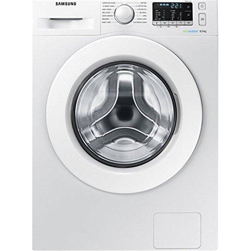 Samsung WW80J5355MW Independiente Carga frontal 8kg 1200RPM A+++-10% Blanco - Lavadora (Independiente, Carga frontal, Blanco, Botones, Giratorio, Izquierda, LED)
