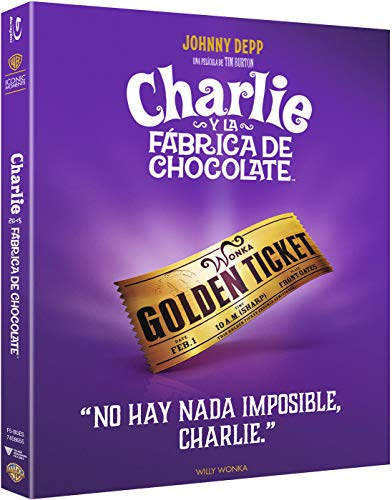 Charlie Y La Fábrica De Chocolate Bluray Iconic [Blu-ray]