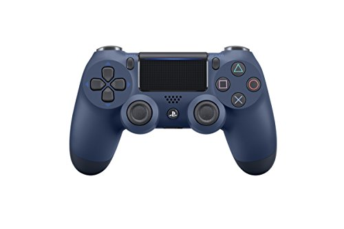 Sony - Mando Inalámbrico DualShock 4, Color Azul Oscuro (PS4)