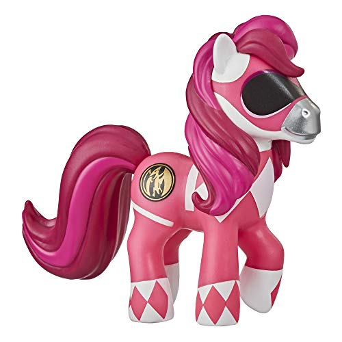 My Little Pony X Power Rangers Crossover Collection Morphin Pink Pony - Figura Coleccionable Inspirada en Power Rangers