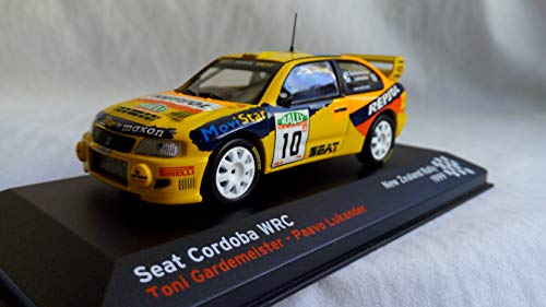 Desconocido 1/43 Seat Cordoba WRC New Zealand Rally, 1999 T,GARDEMEISTER-P.LUKANDER