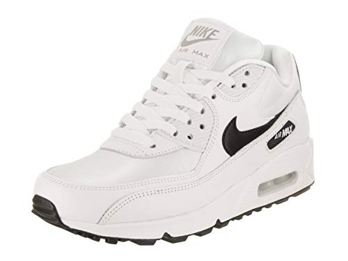 Nike Wmns Air MAX 90, Zapatillas de Running Mujer, Blanco (White/Black/Reflecting Silver 137), 42.5 EU