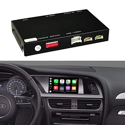 Audi 8W0071804 Emblema S4 Tuning Exclusive Black Edition negro y rojo